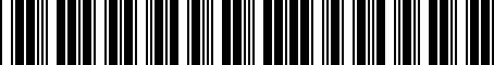 Barcode for 081900C820