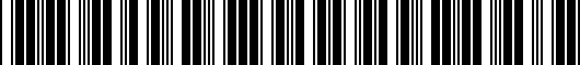 Barcode for PT90789190FF