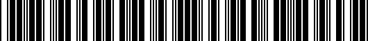 Barcode for PT9531M160TL