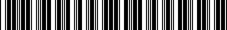 Barcode for PTR2753100